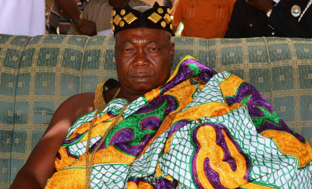 Paramount Chief of Santrokofi Traditional Area